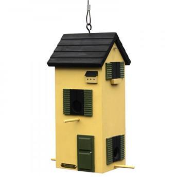 Mangeoire townhouse sky yellow Wildlife