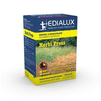 Herbi Press 250 ml Edialux ** Herbicide total sans Glyphosate **