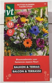 Semences Espace fleuri Balcon et terrace (VT)
