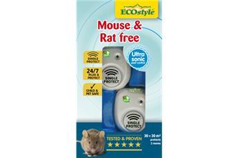 Souris et rat Free Duopack 80 + 30 Ultrason répulsif