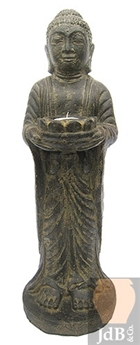 Bouddha Candle Standing Ht 50 cm