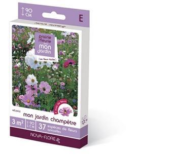 Prairie Fleurie Champêtre 16 g 3 M² Nova Flore