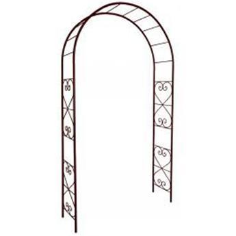 Arche dbl décor romantique 130/40/250 Fer Vieilli (3166)