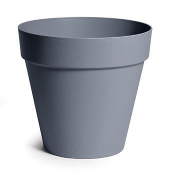 Pot Essence Rio Pebble Grey plastic D29 H28.2  (Mg)