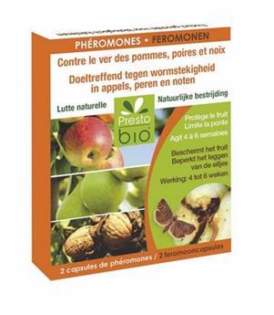 Pheromone vers des pommes, poires, noix 2 capsules