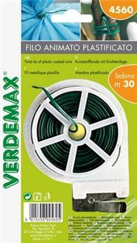Lien plastique vert armé bobine 30 M
