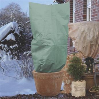 Voile hiver verte Ht 180 Diam 120 cm 50 gr/m²