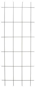 Treillis métal plastifié gris 145 x 57 cm