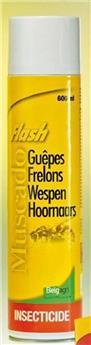 Spray Muscado Flash guêpes frelons 600 ml Belgagri