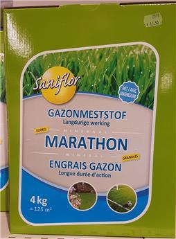 Engrais gazon Marathon 4 kg Sani