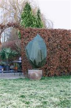 Housse hiver vert H 150 x D 75 cm x 2 pc 50 gr/M²