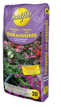 Saniflor terreau Geranium 20L