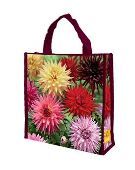 Dahlia Décoratif MIX * 5 Pc / shopping bag