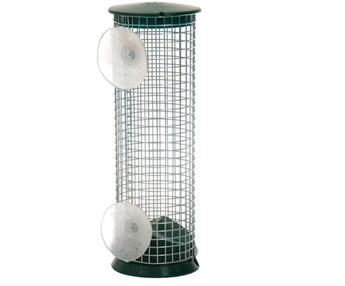 Mangeoire silo Window feeder cacahuettes métal