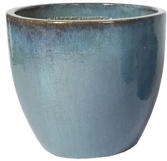 Sumba Egg Pot Celadon Blue D60 H52 cm (Mg)