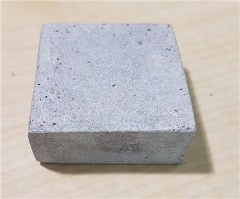 Pied carré 5/5 cm Polystone aspect pierre bleue (JDB)