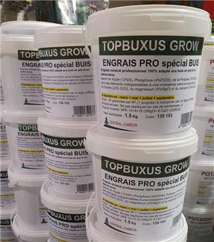 TOPGROW Engrais buis 1.5 Kg seau recyclable