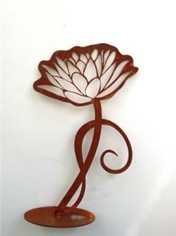 Fleur lotus plateau 11*16 cm
